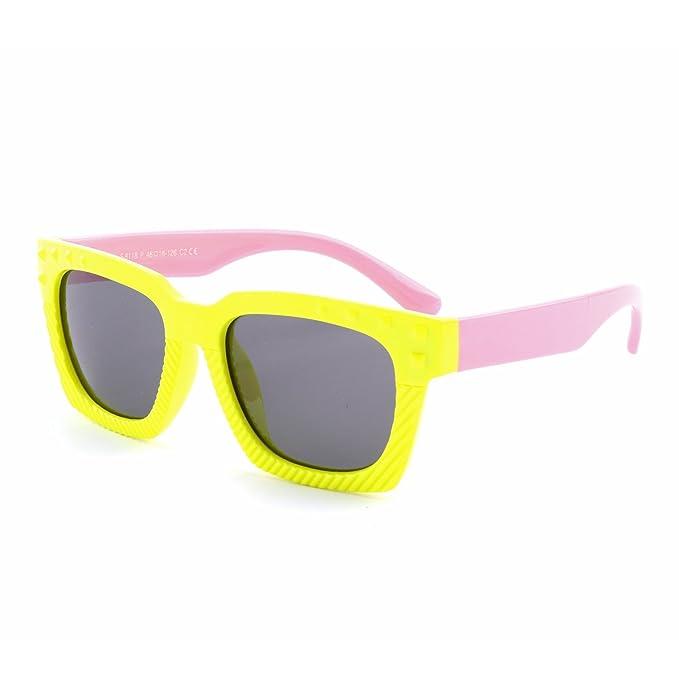 GQUEEN Gafas de sol polarizadas flexibles de goma para niños y infantes de 3-7 años de Edad, ET18: Amazon.es: Ropa y accesorios