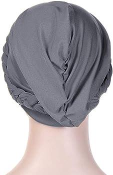 Dsaren Gorros Oncologicos Dormir Suave Turbante Quimioterapia Mujer Slouchy Beanie Gorro Pañuelo Quimio para Pèrdida de Pelo Cáncer (Gris): Amazon.es: Ropa y accesorios