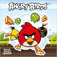 Official Angry Birds Square Wall Calendar 2015