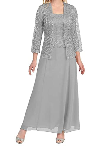 Dressesonline Mother of The Bride Dresses Tea Length with Jacket