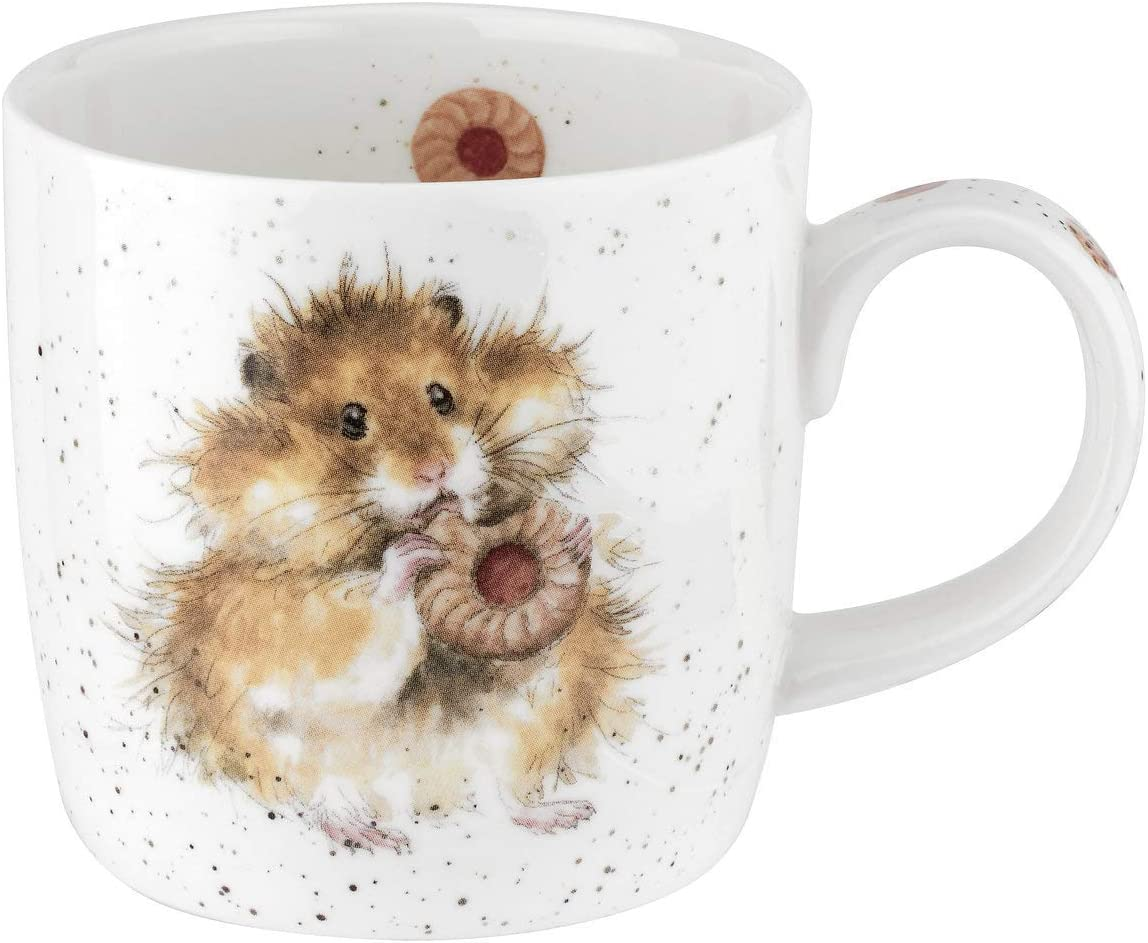 Hamster Simple Tasse Wrendale par Royal Worcester R/égime D/émarre Tomorrow