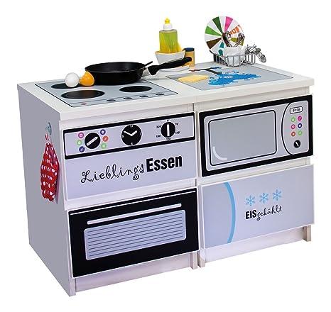 Mobili adesivo Kombi cucina per bambini adatto per i tuoi due IKEA ...