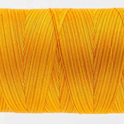 Oranges 50wt double gassed Egyptian cotton WonderFil Specialty Threads Tutti in variegated colors