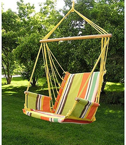 Styled Shopping Deluxe Rainbow Hanging Hammock Swing Chair