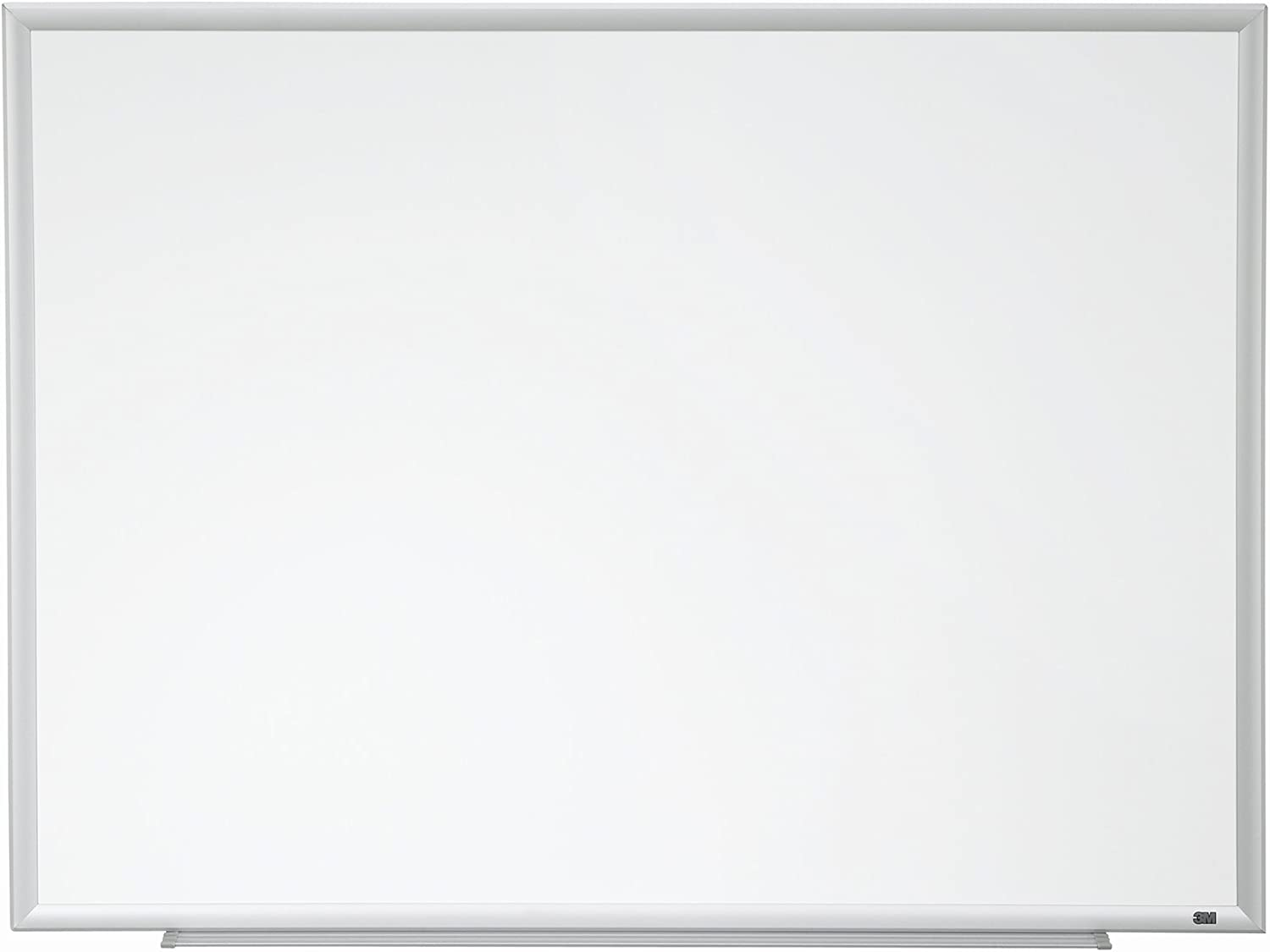 3M Porcelain Dry Erase Board, 96 x 48-Inches, Aluminum Frame