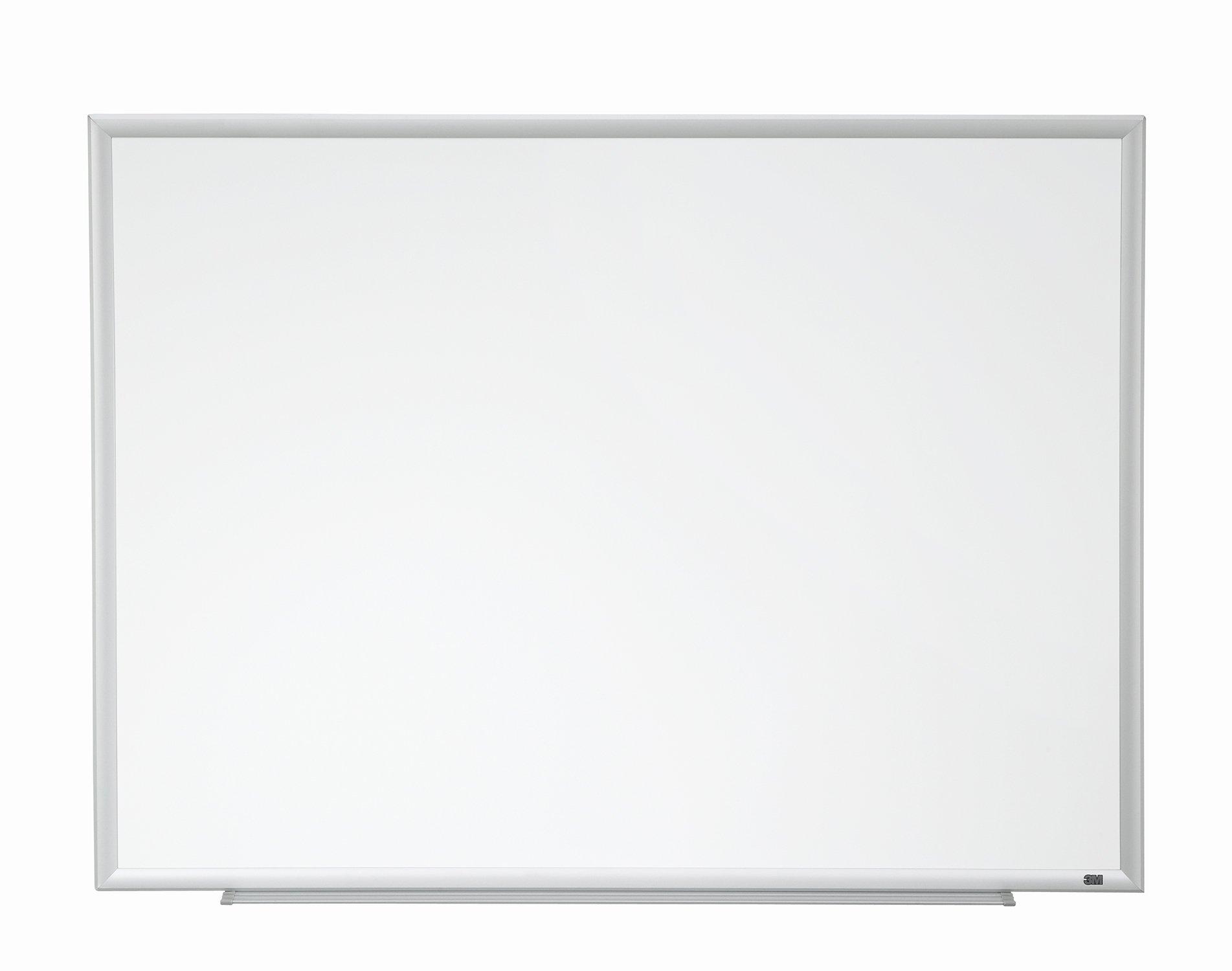 3M Porcelain Dry Erase Board, 60 x 36-Inches, Aluminum Frame