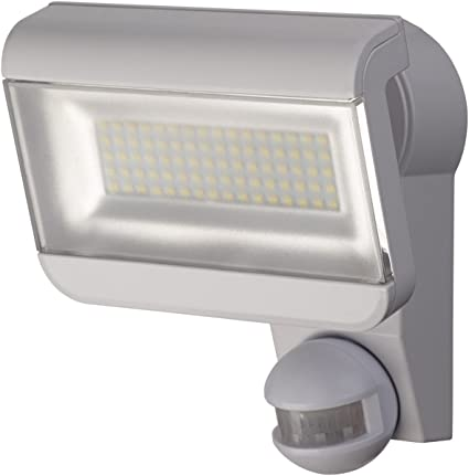 Brennenstuhl LED-reflector Premium City SH8005 PIR IP44 con sensor de movimiento, Colour,