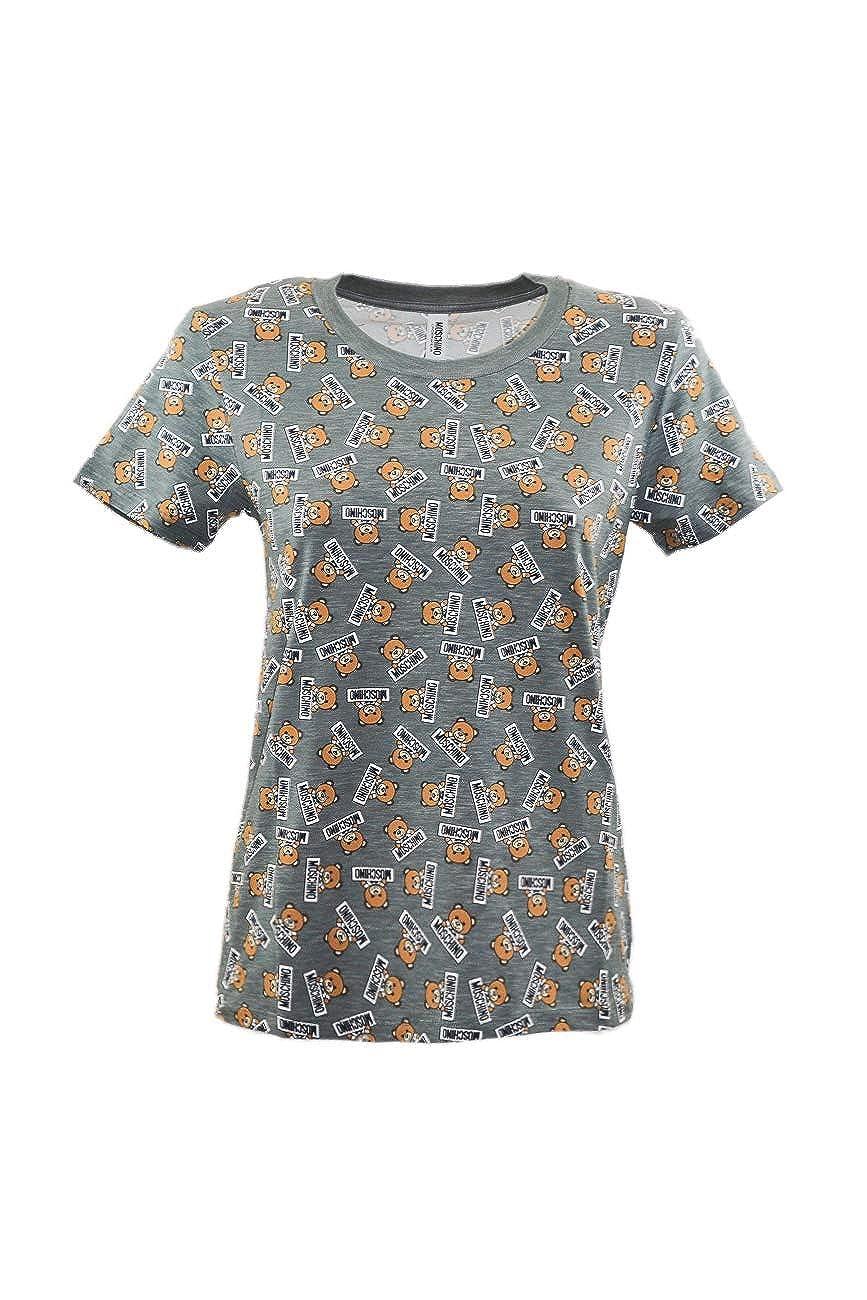 d6c0302e8 Moschino Underwear - T-Shirt - Grigio: Amazon.co.uk: Clothing