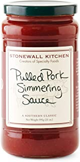 product image for Stonewall Kitchen Pulled Pork Simmering Sauce, 21 Ounces