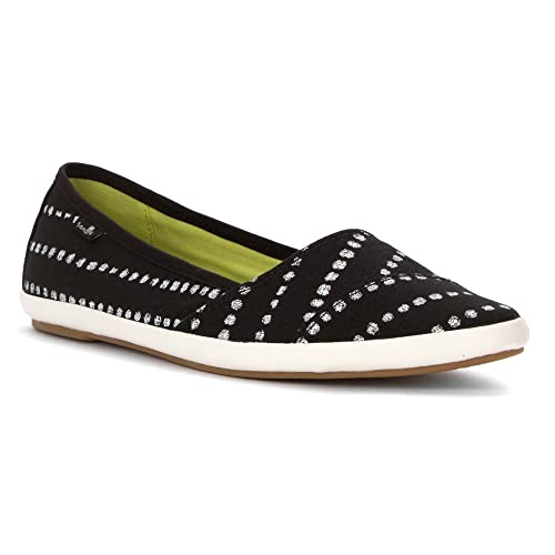 Sanuk Womens Kat Prowl Prints Slip-On Loafer Black White Dots 6 B(M) US   Buy Online at Low Prices in India - Amazon.in d84473e0f
