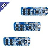 Comidox 3S 12V 10A 18650 Lithium Battery Protection Board BMS Li-ion Charger Protection Module Anti-Overcharge/Over-Discharge/Over-Current/Short Circuit 3Pcs