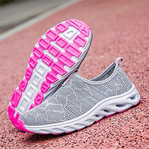 4cfebbb2beea JJHAEVDY Men's Women Mesh Slip-on Shoes Fashion Comfort Non-Slip Walking  Travel Sneakers Summer Lightweight Casual Shoes