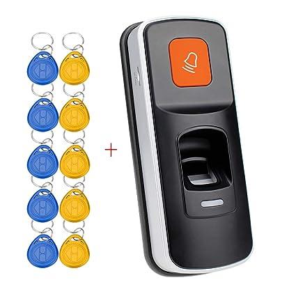 YAVIS RFID Controlador de Acceso a Huellas Dactilares, Lector biométrico de Huellas Dactilares, Kit