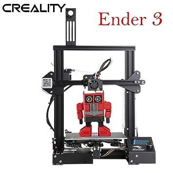 Creality Ender 3 - Kit de impresora 3D (aluminio, 220 x 220 x 250 ...