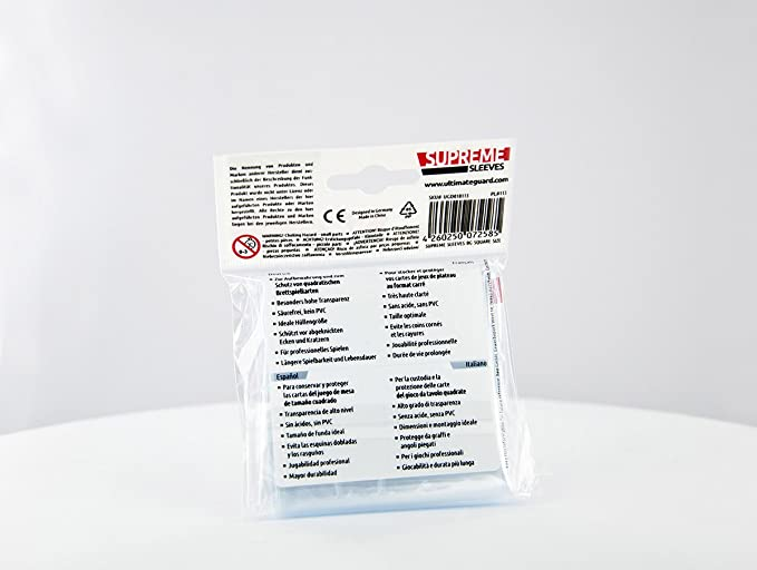Square Game Sleeves (50)
