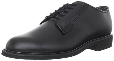 Bates Men's Leather Uniform Work Shoe,Black,3 ...