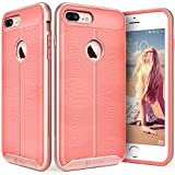 iPhone 7 Plus Case, Vena [vAllure] Wave Texture [Bumper Frame][CornerGuard Shockproof | Strong Grip] Slim Hybrid Cover for iPhone 7 Plus (5.5
