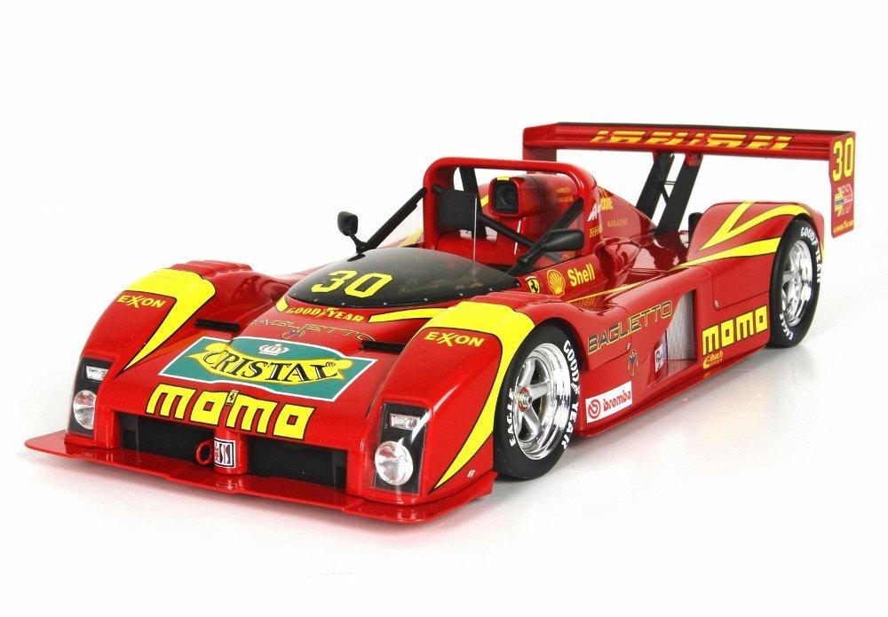 フェラーリ333 SP Tic Tac IMSA 1994 Road Atlanta Winnerモデルカーin 1 : 18スケールby BBR B0733LY6PT