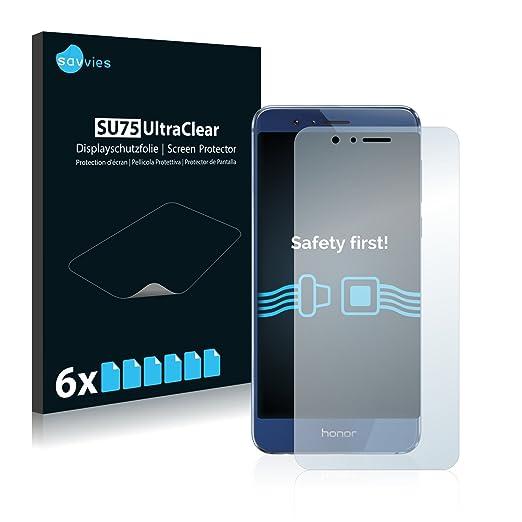 3 opinioni per [6 Pack] Savvies Pellicola Protettiva per Huawei Honor 8 Protezione Proteggi