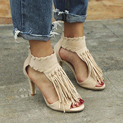 Zapatos Zapatos de Roma K Youth Mujer de Borlas Tac Moda qwgw4p0
