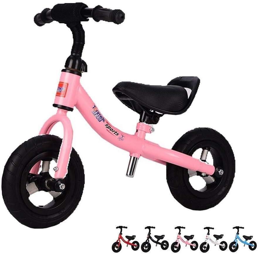 Bicicleta Sin Pedales Ultraligera Bicicleta de Equilibrio, Bicicleta para niñas, para niños de 1, 2, 3 años, Juguetes para niños y niñas, Bicicleta de Entrenamiento para niños de 1 a 5 años, 8