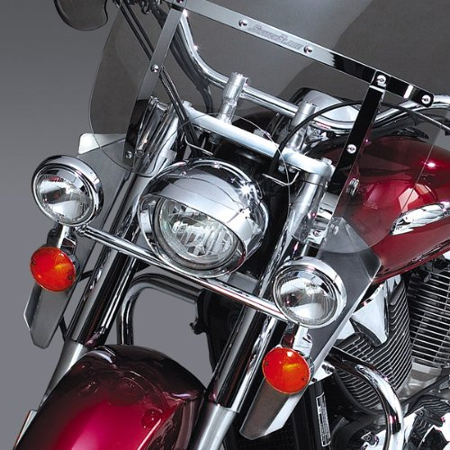 - National cycle n76609 switchblade chrome lower deflectors