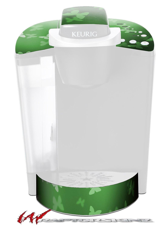 Bokeh Butterfliesグリーン – デカールスタイルビニールスキンFits Keurig k40 Eliteコーヒーメーカー( Keurig Not Included )   B017AK64LG