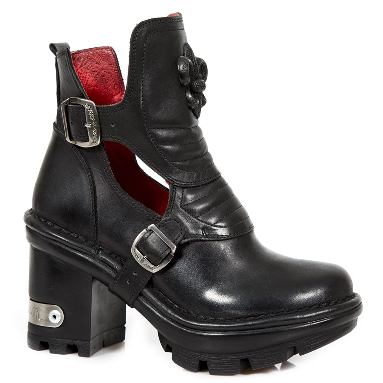 NEWROCK NR M.NEOTYRE66 S1 Black - New Rock Boots - Womens