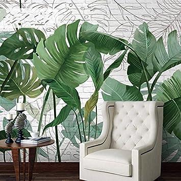 HUANGYAHUI Wandbilder Der Tropische Regenwald Grün 3D Wallpaper ...