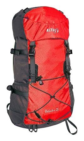 Altus Balaitus 25 - Mochila, Unisex, Color Rojo/Gris, Talla única: Amazon.es: Deportes y aire libre