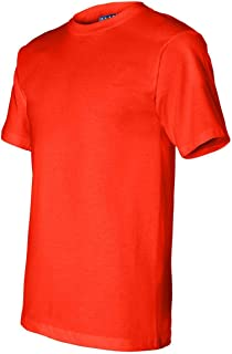 product image for Bayside - Union-Made Short Sleeve T-Shirt - 2905-3XL - Orange