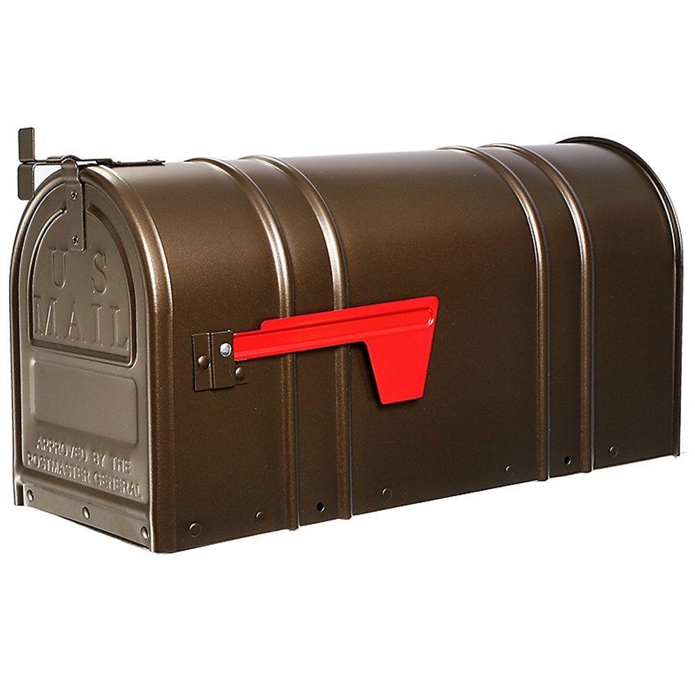 Postal Pro Carlton Post-Mount T2 Mailbox, Bronze