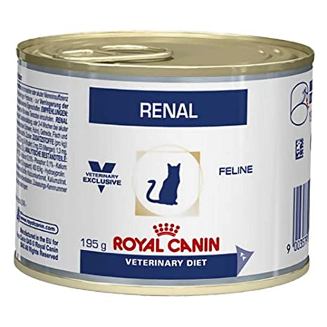 ROYAL CANIN Alimento con Sabor a Pollo para Gatos con Problemas Renales - 195 gr