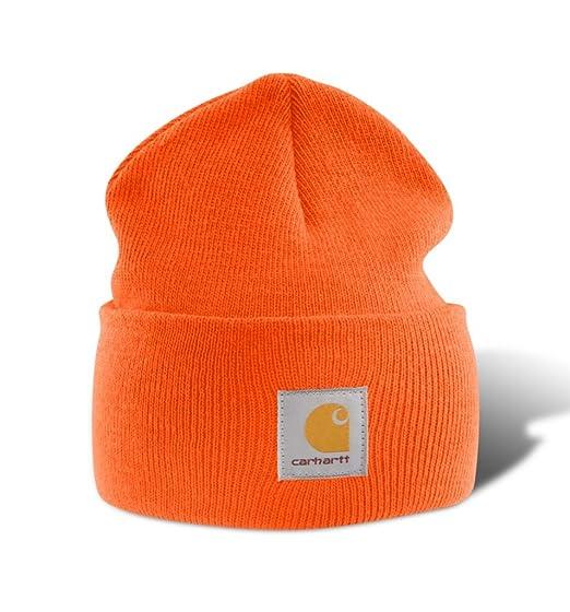 prix de gros dégagement profiter de gros rabais Carhartt A18 Bonnet beanie Watch hat (orange)