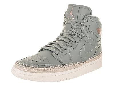 b9bc5e122be84 Jordan Nike Women's Air 1 Retro Hi Prem Basketball Shoe
