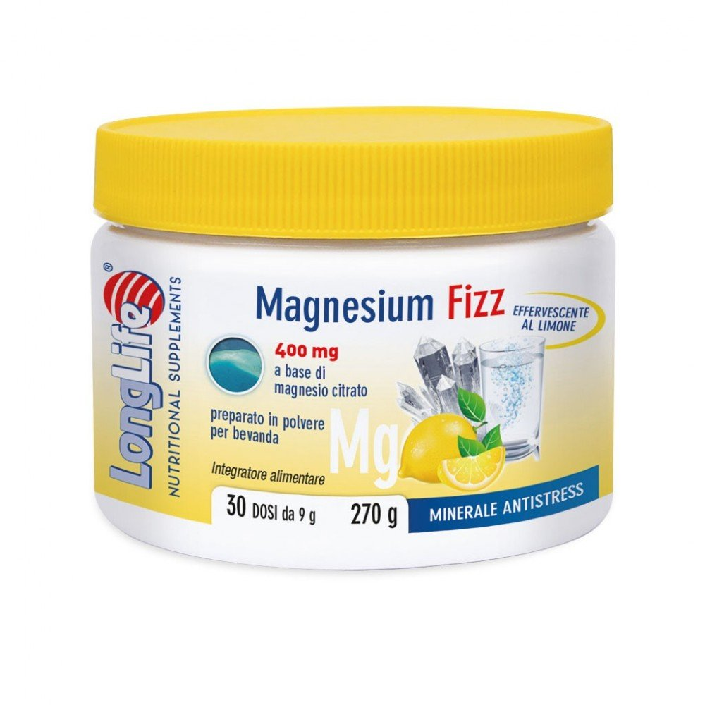 Amazon.com: LongLife Magnesium Fizz 400mg Food Supplement 270g: Health & Personal Care