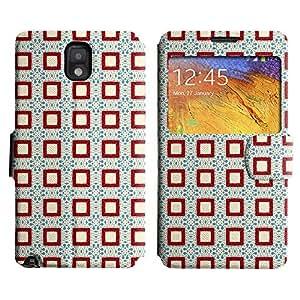 LEOCASE caja linda Funda Carcasa Cuero Tapa Case Para Samsung Galaxy Note 3 N9000 No.1006042