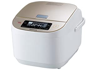 Panasonic SR-AFM187 10-Cup (Uncooked) Induction Heating System Rice Cooker & Multi-Cooker, Champagne/Beige