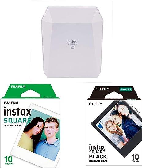 Fujifilm Instax Share SP-3 - Impresora smartphone, color blanco + Fuji FUJ105224: Amazon.es: Electrónica