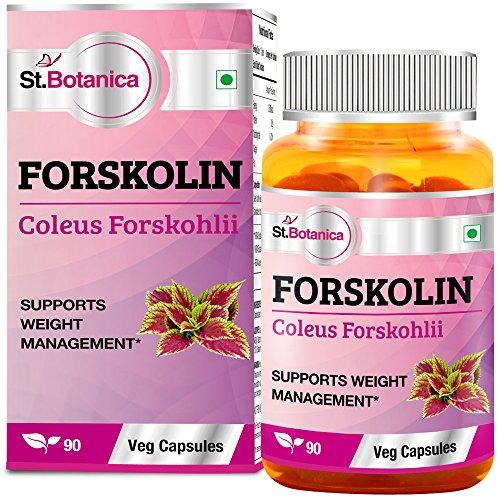 St.Botanica Forskolin 500mg Extract – 90 Veg Caps