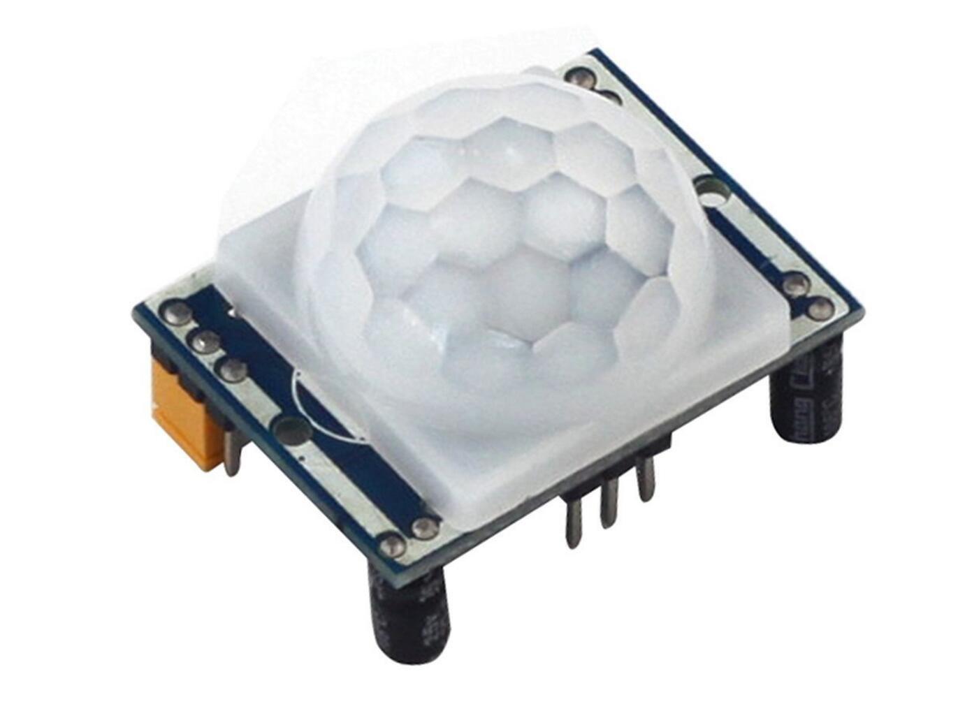 haoyishang HC-SR501 piroelé ctrico infrarrojo PIR Motion Sensor Detector mó dulo ajustar Ir cuerpo Sensor Junta