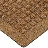 Andersen 250 WaterHog Drainable Polypropylene Entrance Outdoor Floor Mat, 6' Length x 4' Width, Dark Brown