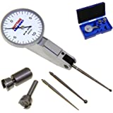"""Anytime Tools Test Indicator Long Probe Extended Reach Lever High Precision Dial 7 Jewels 0.0005"""" 0-15-0"""