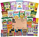 Non-GMO and Natural Healthy Snacks Care Package (40 Count)