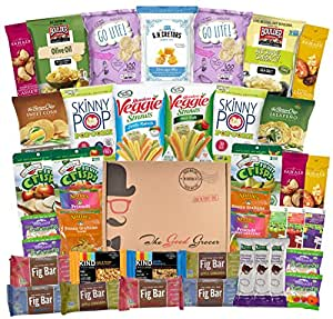 Amazon.com : Non-GMO and Natural Healthy Snacks Care Package - College, Military, Get Well