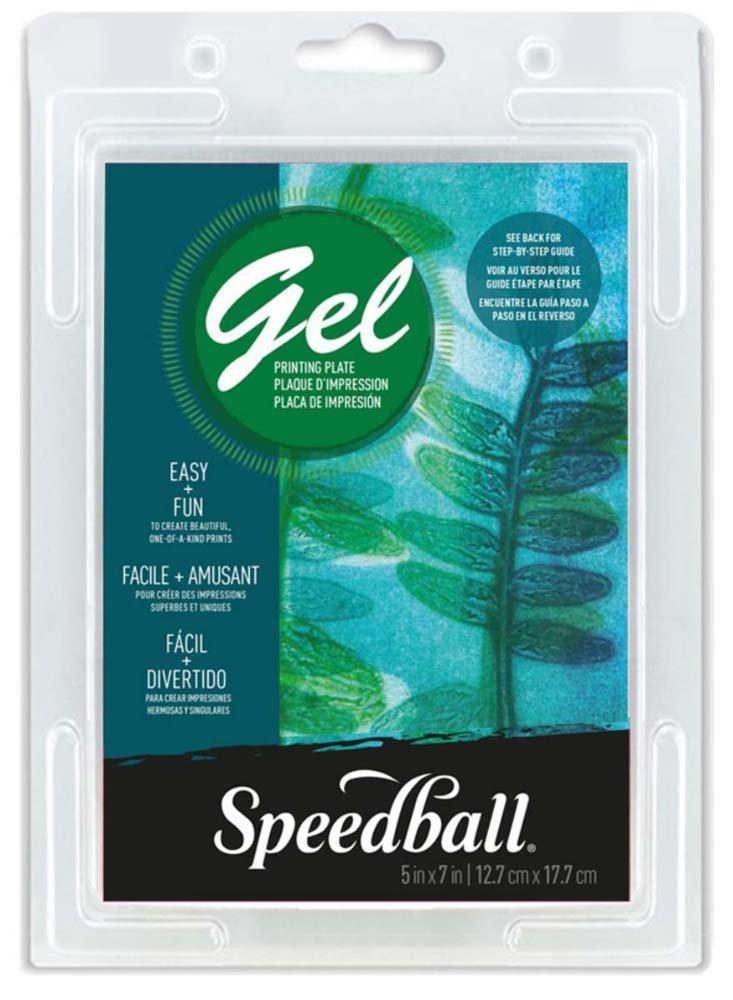 Plancha de Gel para Impresiones SPEEDBALL 13x18cm