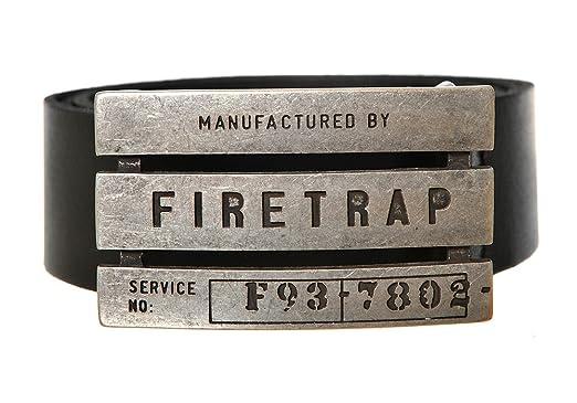 Clothing, Shoes & Accessories Belt Firetrap Gate Belt Mens Gents