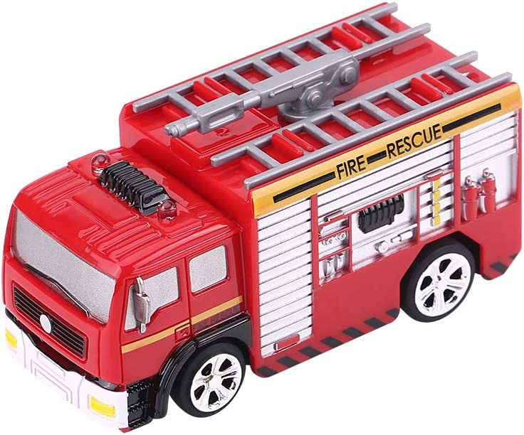 Jimfoty RC Fire Engine Toy Fire Engine Toy Cars RC Fire Rescue Truck Ultimate Rescue Fire Truck for Kids