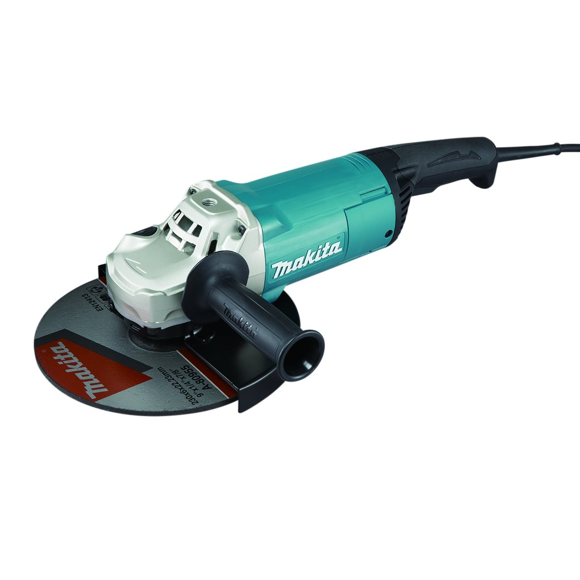 Makita ga9061r  –   Meuleuse 2.200  W 230  mm Anti-Restart, Noir, Bleu