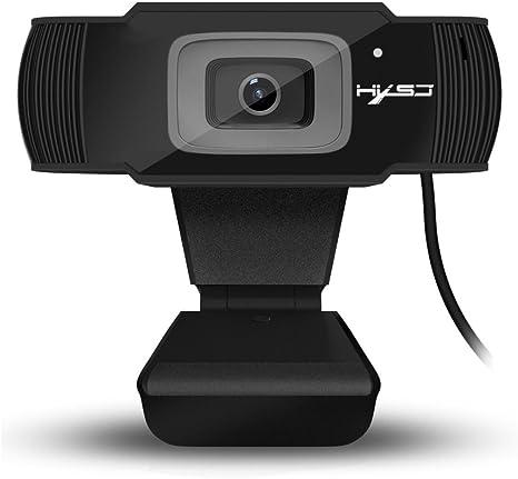 Docooler HXSJ S70 Videocamera Web con autofocus HD Webcam Supporto da 5 megapixel Videochiamata 720P 1080